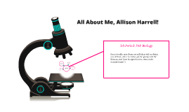About Me, Allison Harrell!