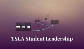 TSLA Student Leadership