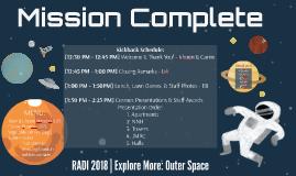 RADI 2018 Mission Complete