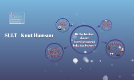 SULT - Knut Hamsun