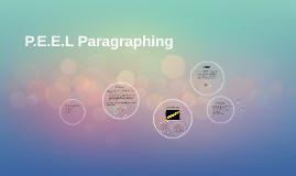 P.E.E.L Paragraphing