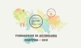 Fundamentos da Metodologia Científica