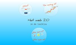 Het Web 2.0 in de taalklas
