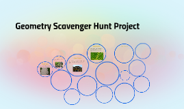 Geometry Scavenger Hunt Project