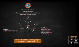 Copy of Diseño de un Plan Estrategico para la empresa El Buen Vestir