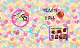 Peach Roll
