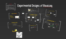 Copy of Experimental Designs of Bioassay