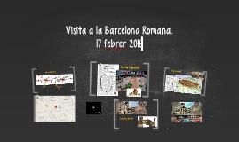 Visita a la Barcelona Romana.