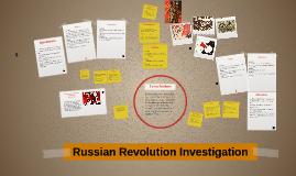 Russian Revolution Investigation