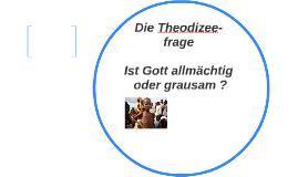 Die Theodizee-frage