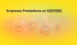 Empresas Prestadoras en HOFFENS