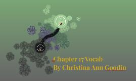 Chapter 17 Vocab