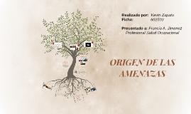 Copy of ORIGEN DE LAS AMENAZAS