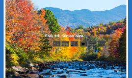 ENG 102: Session Nine