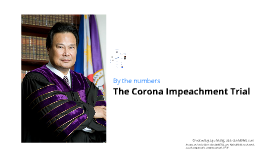 By the numbers: The Corona impeachment trial