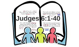 Gideon (Judges 6:1-40)