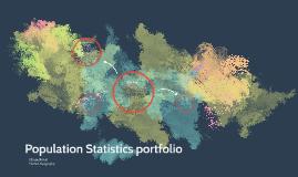 Population Statistics portfolio