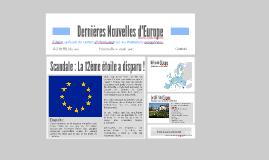 Dernières Nouvelles d'Europe