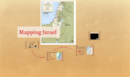 Mapping Israel