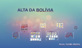 ALTA DA BOLIVIA