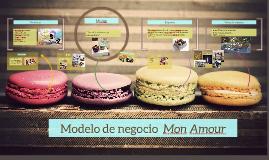 Modelo de negocio  Mon Amour