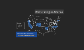 Redistricting Reform Act