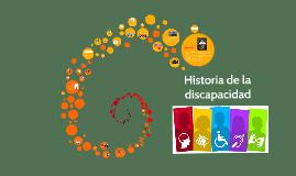 Historia de la discapacidad