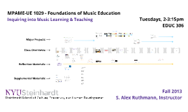 Copy of Foundations of Music Education