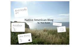 Native American Blog