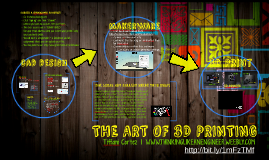THE ART OF 3D PRINTING