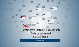 Pentingnya Sistem Pengamanan SI Dalam Bisnis