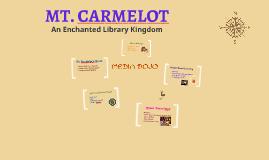 Mt. Carmelot:  Enchanted Library Kingdom