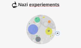Nazi experiements