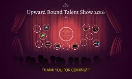 Upward Bound Talent Show 2016