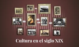 Cultura en el siglo XIX