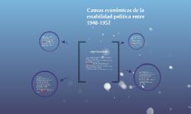 Copy of Etapa de estabilidad (1948-1960)