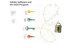 Adobe Software and the CGA Program