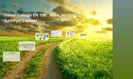 English Composition I - ENG-101