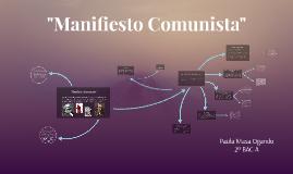 """Manifiesto Comunista"""