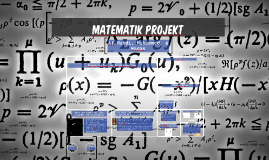 Matematik Projekt