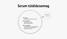 Scrum Starter Pack