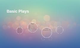 Basic Plays
