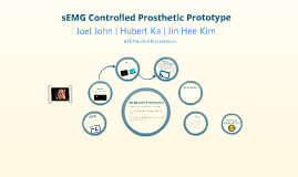 Copy of sEMG Controlled Prosthetic Prototype