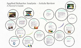 Applied Behavior Analysis - Review