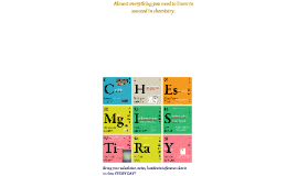 Chemistry Orientation 2017