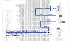 Instalaciones audiovisuales.