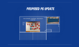 Proposed PG Update