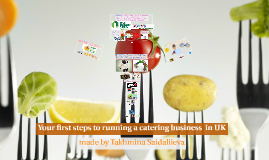 Your first steps to running a catering business  in UK