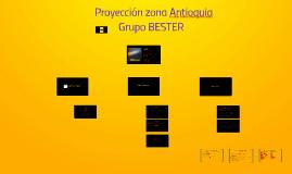 Proyección zona Antioquia