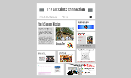 The All Saints Connection